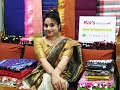 Latest Fashion Trend - Handloom Sarees From Rai's Fashions (7th July 2019)