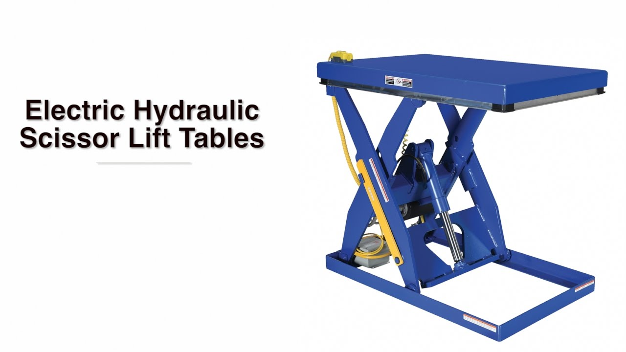 Electric Hydraulic Scissor Lift Table Ehlt Product Video