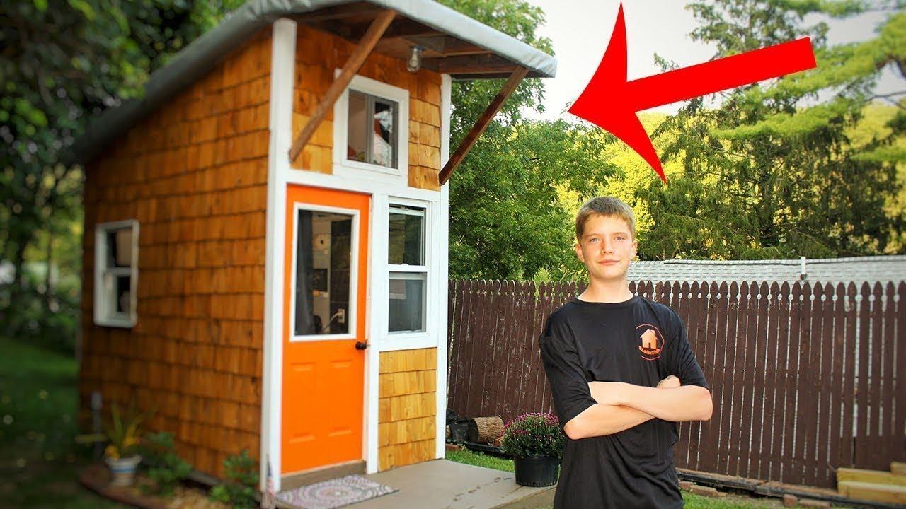 Ragazzo di 13 anni costruisce la propria casa per 1500 for Creare la propria casa