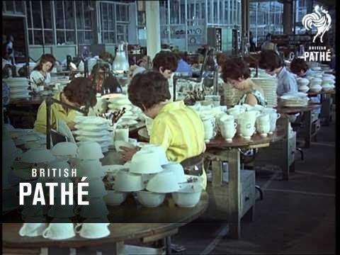 Wedgwood Pottery  (1966)