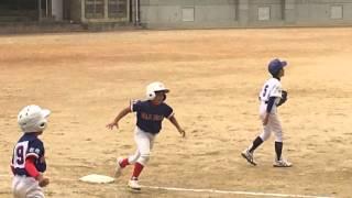 2016.4.16 第8回中部南支部(琉球新報杯争奪)学童軟式野球大会 3回戦 ...