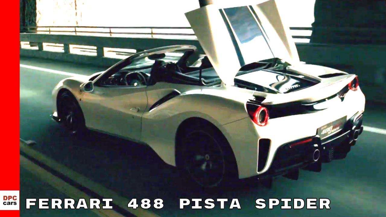Ferrari 488 Pista Spider Youtube