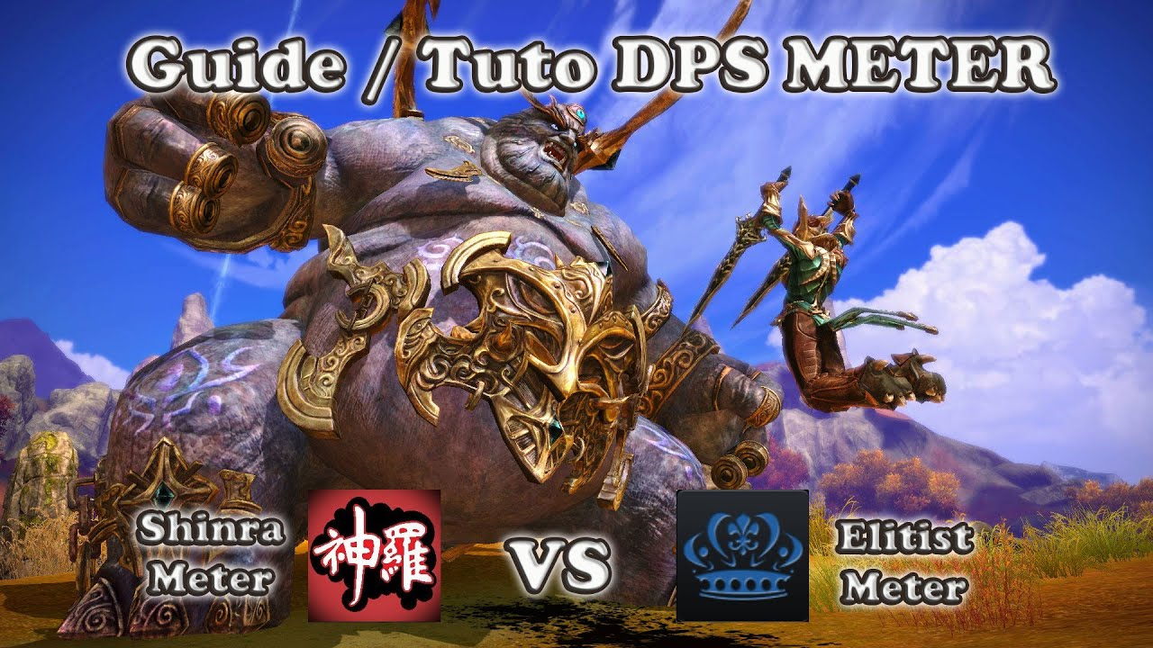 Tera - Guide / Tuto DPS METER | Shinra VS Elitist [Lomitall #266]
