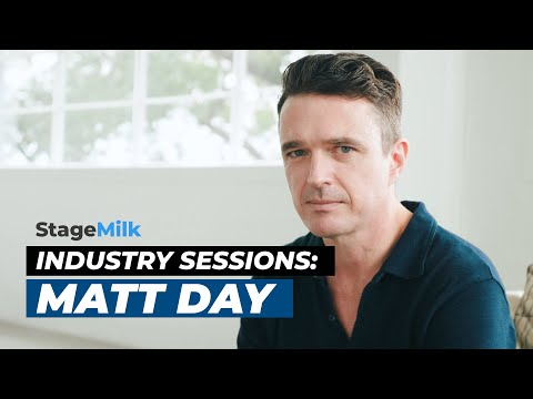 StageMilk Industry Sessions: Luck, relationships and cultivating your own acting career - Matt Day