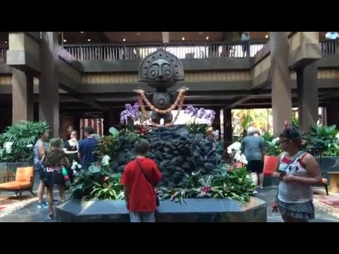 Polynesian Resort Live Stream - Surprise! - Walt Disney World