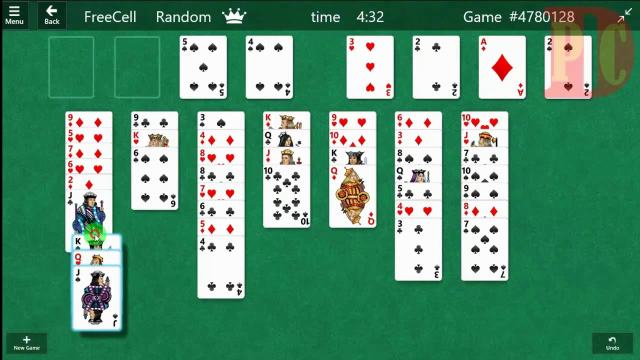 How to Play FreeCell in Windows 10 (Win) - YouTube
