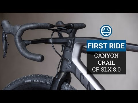 Canyon Grail CF First Ride Review -  Gravel Bike Rides Well & Looks... Different