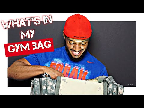 What's in my Gym Bag | Essentials Items You Need!