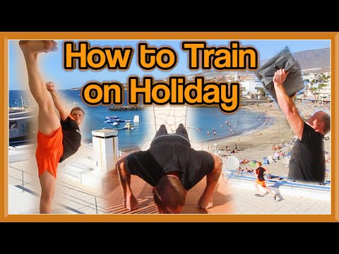 How to Train Martial Arts Away/on Holiday | GNT ft Master Gassor (My Dad)