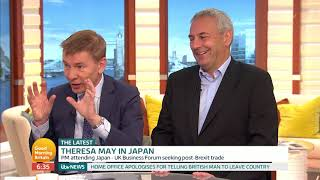 Theresa May Speaks in Japan | Good Morning Britain