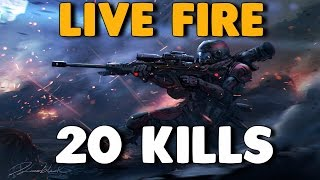 Titanfall 2 - LIVE FIRE Dominance | Dropping 20 Kills on Teabaggers