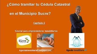 Como tramitar tu cedula catastral en el Municipio Sucre del Estado Miranda