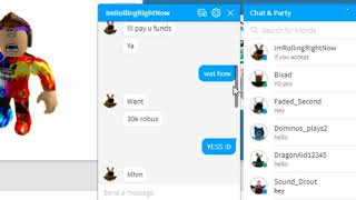 Roblox Scammer