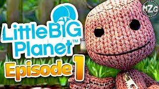 10 YEARS! - LittleBigPlanet Gameplay Walkthrough - Episode 1 - The Gardens! Story Mode!