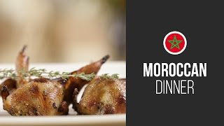 Moroccan style Quails with Honey || Around the World: Moroccan Dinner || Gastrolab