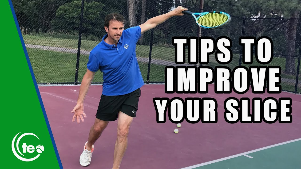 How To Improve Your Slice Backhand   TENNIS LESSON