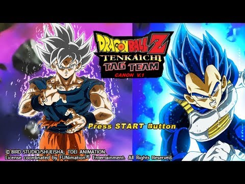 DBZ TTT CANON V.1 MOD ISO DOWNLOAD WITH NEW DB LEGENDS TEXTURES