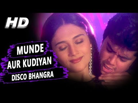Munde Aur Kudiyan Disco Bhangra Karne Aaye Hai | Udit Narayan, Alka Yagnik | Shapath HD Songs|Jackie