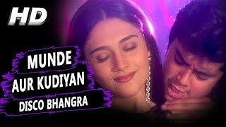 Munde aur kudiyan disco bhangra karne aaye hai   udit narayan, alka yagnik   shapath hd songs jackie