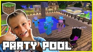 Roof Top Party Pool / Minecraft