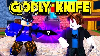 I GOT THE NEW RAREST KNIFE IN MURDER MYSTERY 2! (ROBLOX Murder Mystery 2)