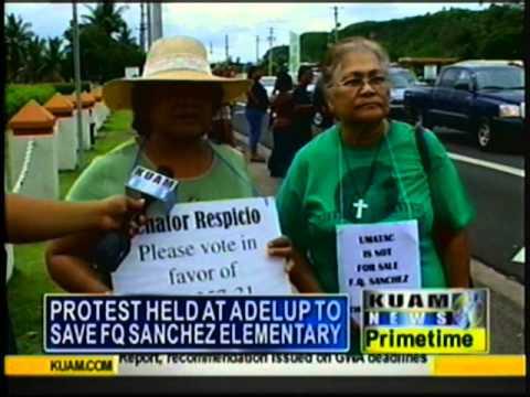 Umatac community marches on Adelup