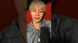200915 SHINee Taemin Instagram Live 샤이니 태민 인스타라이브
