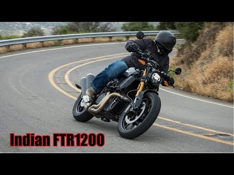 Indian FTR1200 World Launch