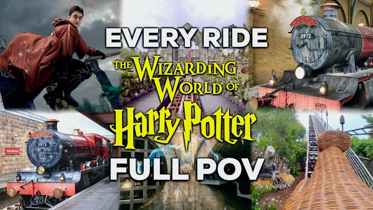 Download EVERY RIDE at the Wizarding World of Harry Potter | Universal Studios Orlando