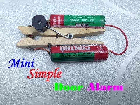 how to make a mini sentry alarm