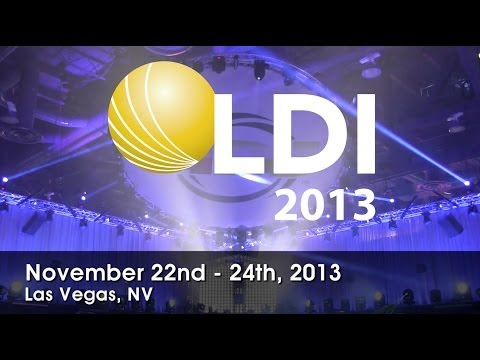 First Look! ADJ Dotz TPar System at LDI 2013