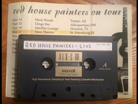 Red House Painters - Live (part 1) State Theatre, Nov. 21, 1997, St. Petersburg, Fla. (audio)