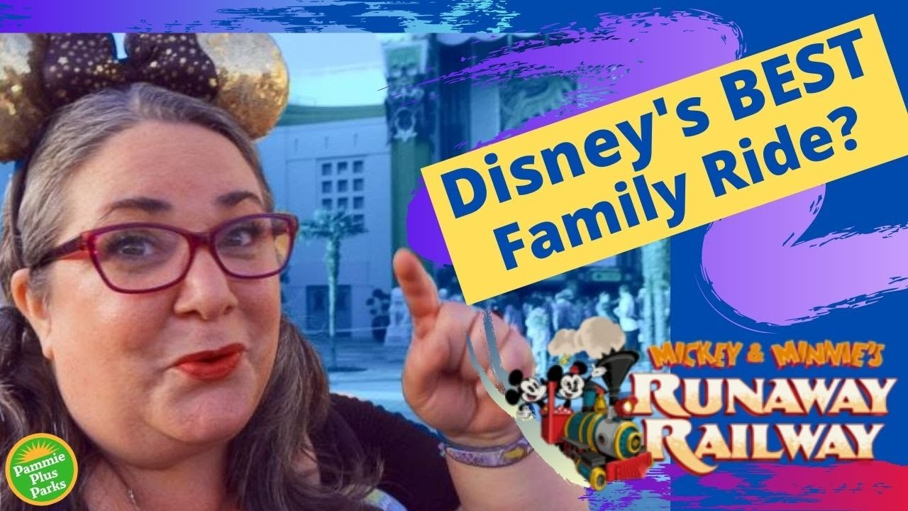 Is Mickey & Minnie's Runaway Railway Fat Friendly? | Plus Size & Accessible Disney Ride Review