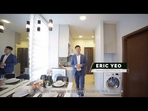 Singapore Condo Property Listing Video - Parc Elegance 2 Bedder Penthouse