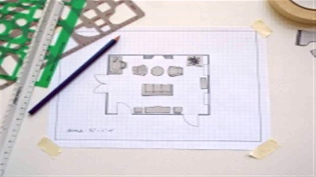 floor plans on graph paper youtube