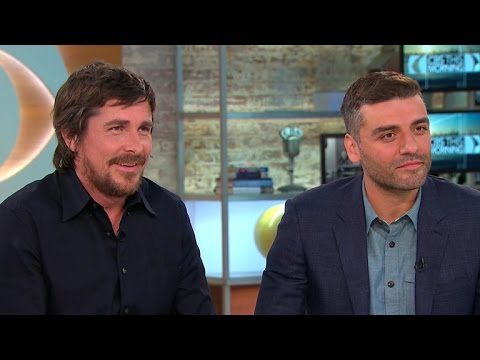 Christian Bale and Oscar Isaac on war drama