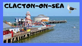 EXPLORING the beautiful town of CLACTON-ON-SEA in ESSEX, ENGLAND