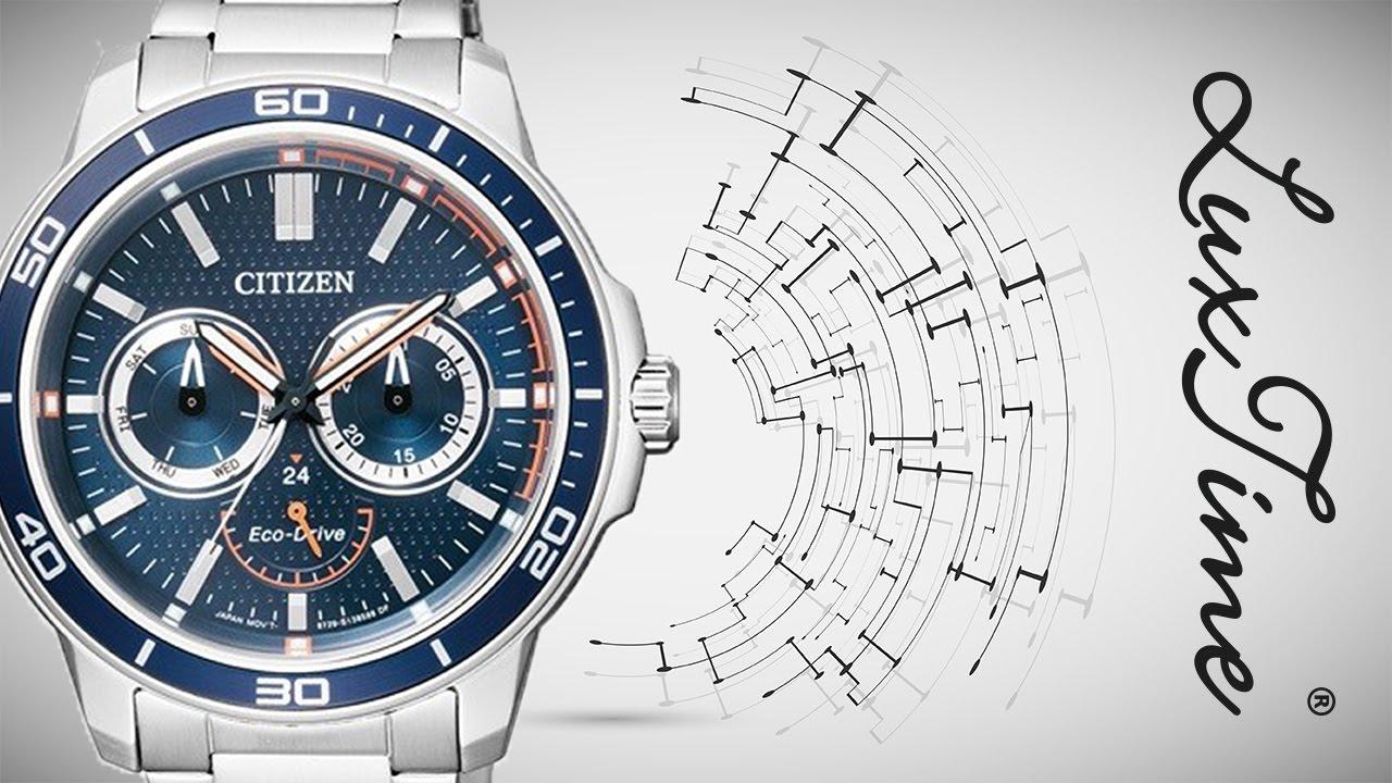 LuxTime.pl zegarek CITIZEN BU2040-56L - YouTube 1db62b236a