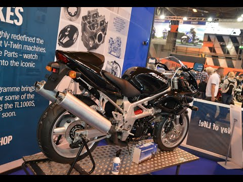 New Suzuki TL1000S Build Time-Lapse Video