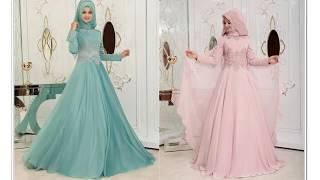 Pınar Şems Tesettür Nişan Elbiseleri 2018