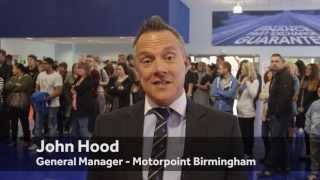 Motorpoint - Birmingham Fiesta giveaway