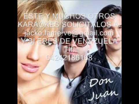 Don juan karaoke instrumental DEMO fanny lu Ft Chino y Nacho.wmv