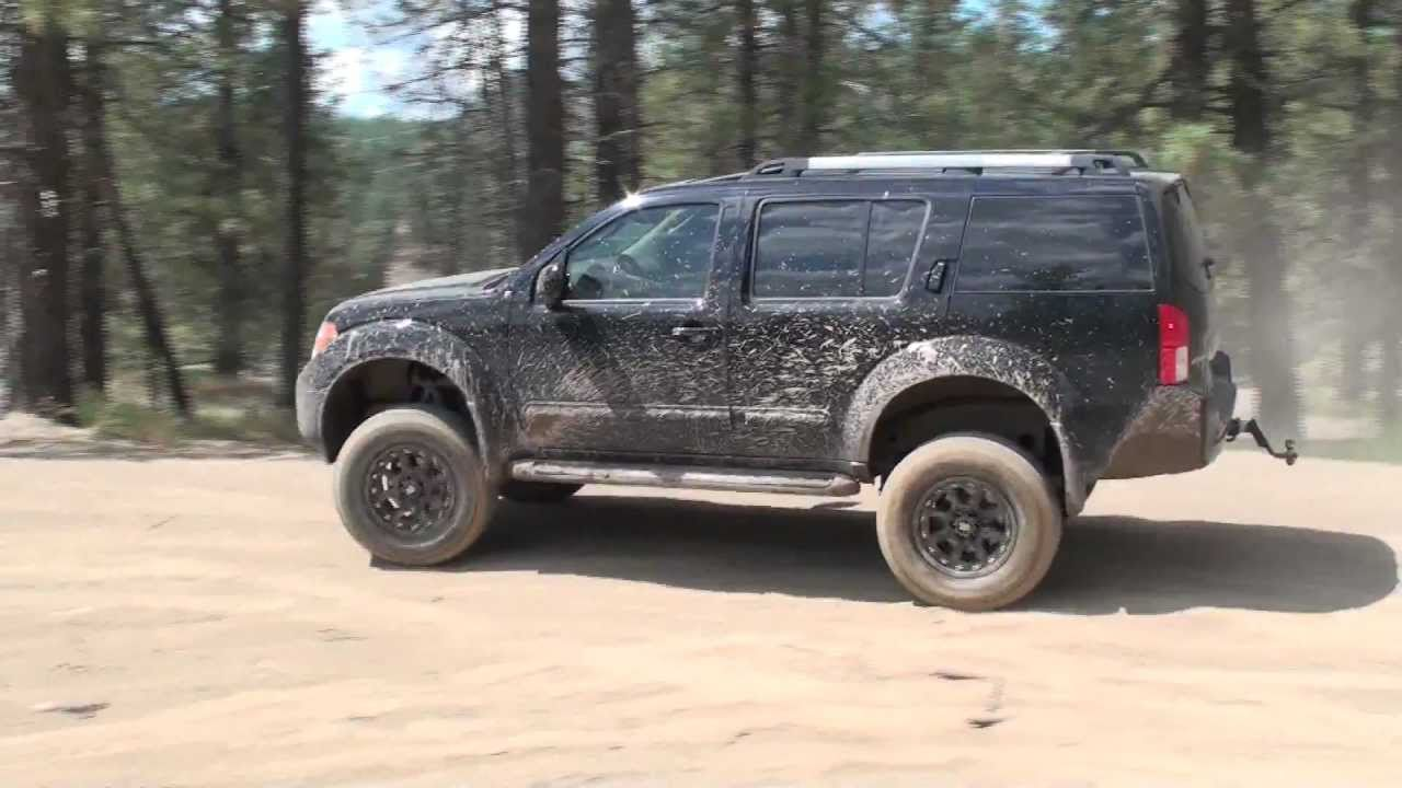 R51 Pathfinder Offroad - YouTube