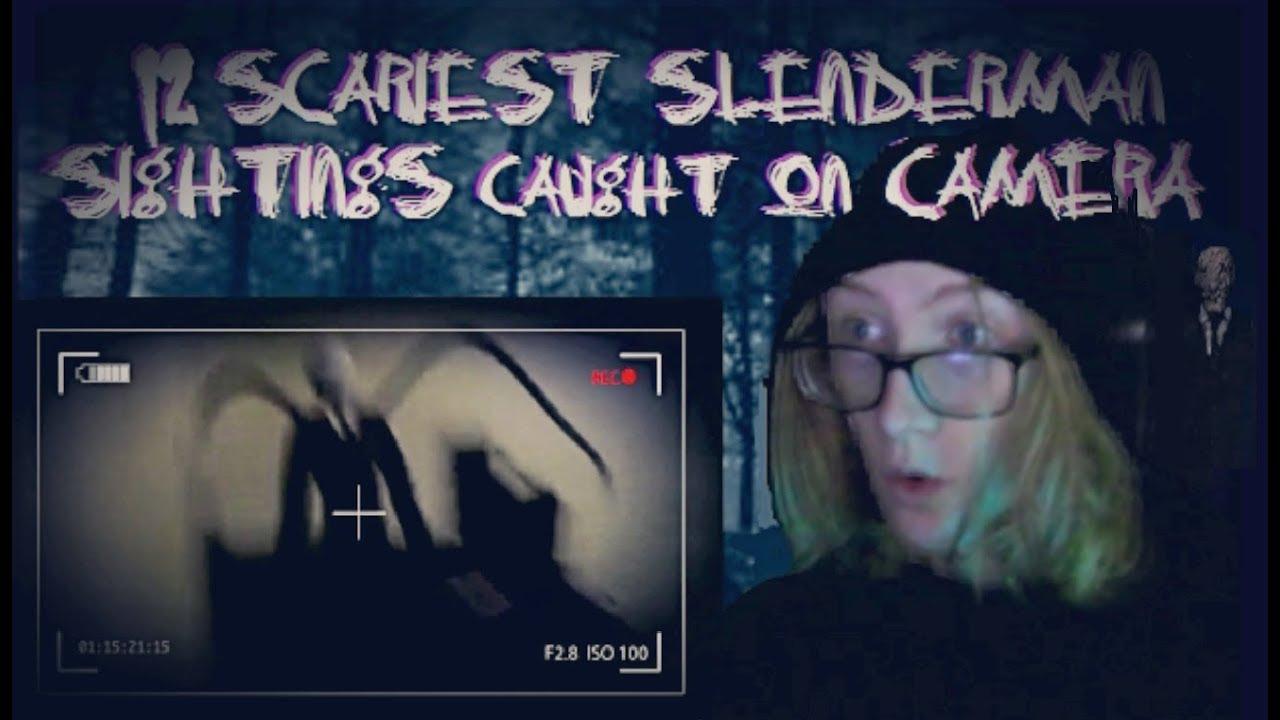 Download 12 Scariest Slenderman Sightings Caught On Camera