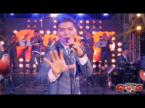 CAMBIO MI CORAZON - GRUPO 5 (EN VIVO HD)
