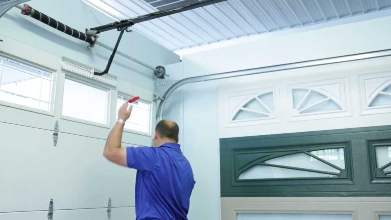 How To Open Garage Door Manually Youtube