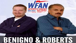 Joe Benigno & Evan Roberts show open-Mike Francesa back,not being ready to leave,getting hate,more