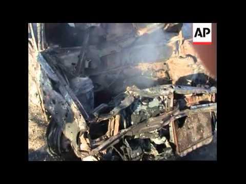 Suicide bomber attacks NATO convoy, killing two civilians
