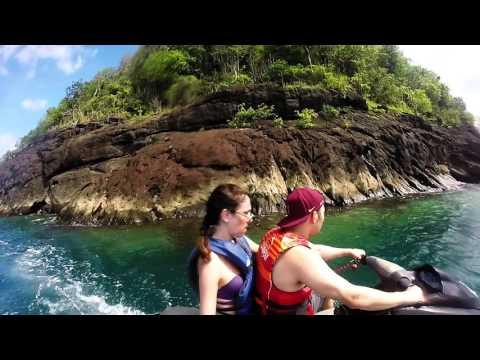 Jet skis on Rodney Bay (St. Lucia)