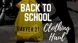 2018 Back To School Try-On Clothing Haul | Nursing Student Edition